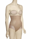 Simone Perele Top Model High Waist Brief 16R774 - Nude