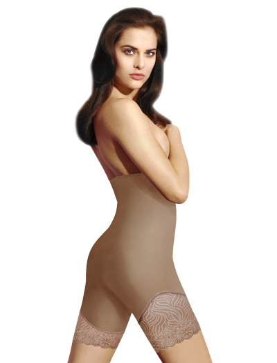 Simone Perele Top Model High Waist Shaper 16R671 - Nude