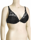 Simone Perele Wish Triangle Contour Bra 12B347 - Black