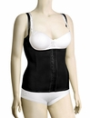Squeem Firm Compression Cotton & Rubber Vest 26MV - Black