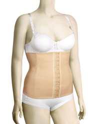 Squeem Firm Compression Cotton & Rubber Waist Cincher 26PW - Nude