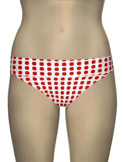 Sunsets Banded Convertible Brief 24B - Fusion Red