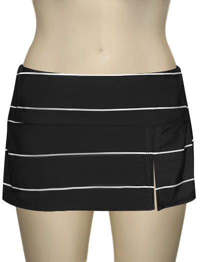 Sunsets Banded Swim Skirt W/ Attached Brief 34B - Moonspell