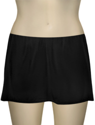 Sunsets Bandless Swim Skirt with Attached Bottom 39B - Black