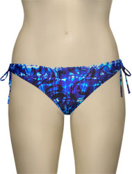 Sunsets Keyhole Tie Side Bikini Brief 15B - Equinox