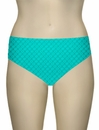 Sunsets Nautical Net Seamless High Waist Brief 30BNNTR - Tropical Teal