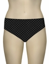 Sunsets Nautical Net Seamless High Waist Brief 30BNNBK - Black