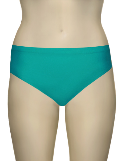 Sunsets Seamless High Waist Brief 30B - Tropical Teal