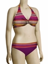 Sunsets Underwire Twist Halter Bikini Top 59 - Horizon