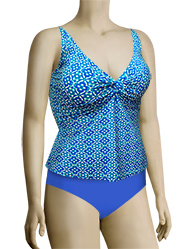 Sunsets Underwire Twist Tankini Top 77 - Hamptons