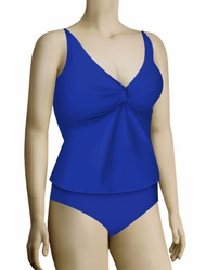 Sunsets Underwire Twist Tankini Top 77 - Deep Sea
