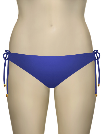 Swim Systems Azul Tie Side Bikini Bottom E209 - Azul