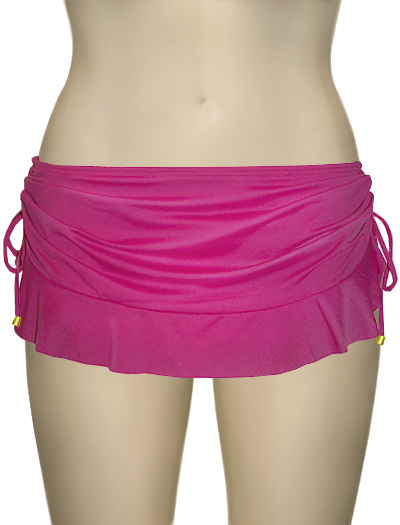 Swim Systems Flirty Skirt With Attached Bikini Bottom F286 - Rhapsody