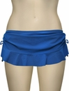 Swim Systems Flirty Skirt With Attached Bikini Bottom G286 - Topaz
