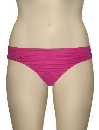 Swim Systems Shirred Hipster Bikini Bottom F228 - Rhapsody