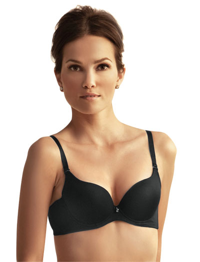 The Little Bra Company Isis Contour Push-Up Convertible Bra E007 - Black