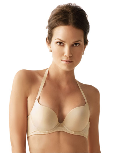The Little Bra Company Isis Convertible Max Push Up Bra E007 - Nude