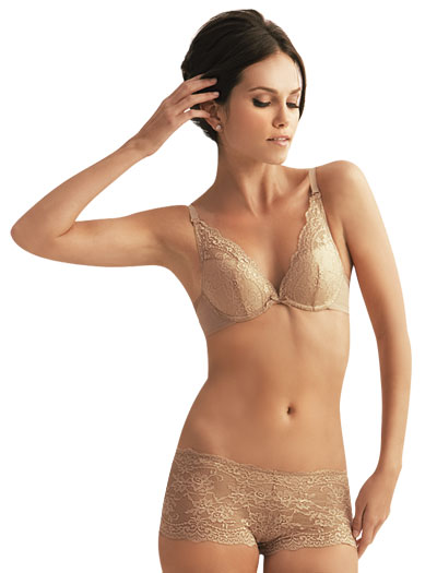 The Little Bra Company Lucia Push Up Bra E004C - Nude