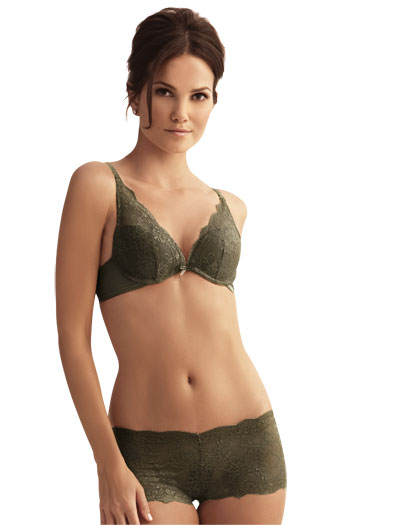 The Little Bra Company Lucia Convertible Push Up Bra E004C - Vintage Sage