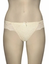 The Little Bra Company Lucia Thong P004T - Ivory
