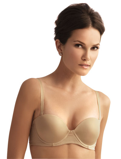 The Little Bra Company Sascha Push Up Strapless Bra F001 - Light Nude