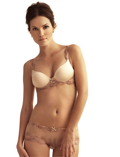 The Little Bra Company Yvonne Push Up E001 - Mocha