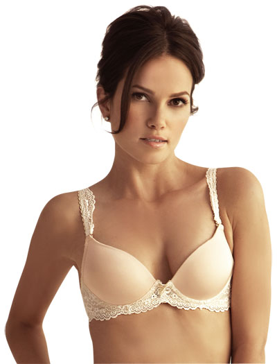 The Little Bra Company Yvonne Push Up E001 - Vanilla