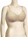 Venus Embroidered Soft Cup Bra 7204 - Fawn