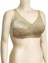 Venus Full Figure Super Support Banded Soft Cup Bra 7102 - Fawn