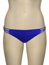 Vitamin A Klein Blue EcoLux Amber Beaded Hipster Bikini Bottom 158BF - KLB