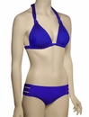 Vitamin A Modernist Chloe Braid Halter Full Bikini Top 23T - KLB