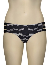 Vitamin A Modernist Chloe Triple Braid Full Cut Bikini Bottom 04B - CMP