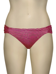 Vitamin A Serengeti Antibes Ruched Hipster Bikini Bottom 40BF - SPH