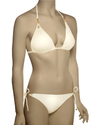 Vitamin A Serengeti Gwyneth Deluxe Braided Triangle Bikini 42ST - CRE