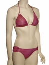 Vitamin A Serengeti Gwyneth Triangle Bikini Top 42T - SPH