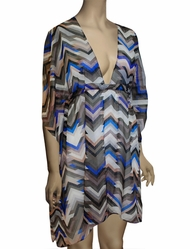 Vitamin A Sportif Positano Caftan Cover Up OWT - CHW