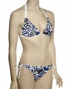 Voda Swim Envy Push Up Double String Halter Bikini Top E05 - Catalina