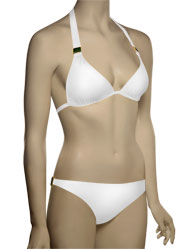Voda Swim Envy Push Up Natural Stone Bikini Top E09 - Pearl