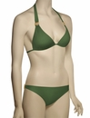 Voda Swim Envy Push Up Natural Stone Halter Bikini Top E09 - Olive