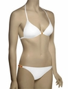 Voda Swim Envy Push Up Natural Stone String Bikini Top E11 - White