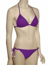 Voda Swim Envy Push Up String Bikini Top E01 - Grape