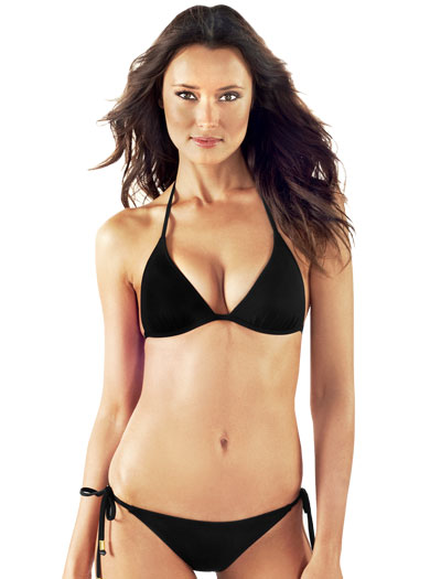 Voda Swim Envy Push Up String Bikini Top E01 - Black