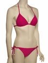 Voda Swim Envy Push Up String Bikini Top E01 - Raspberry