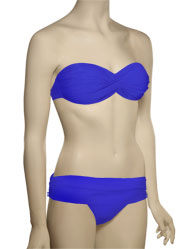 Voda Swim Envy Push Up Twist Bandeau Bikini Top E18 - Royal