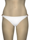 Voda Swim Natural Stone Hipster Bikini Bottom B11 - White