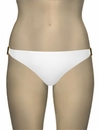Voda Swim Natural Stone Scoop Bikini Bottom B09 - Pearl