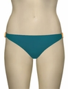 Voda Swim Natural Stone Scoop Bikini Bottom B09 - Peacock