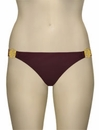 Voda Swim Rose Scoop Bikini Bottom B28 - Huckleberry