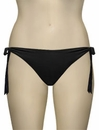 Voda Swim Side Tie Hipster Bikini Bottom B21 - Black