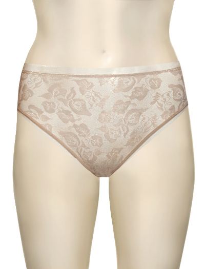 Wacoal Awareness Hi-Cut Brief 871101 - Nude